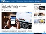 Adtech Leader MediaMath Announces Integration with LiveIntent