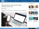 Adweek Names Travis Scott Creator Visionary of the Year
