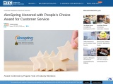 AireSpring Honored with People's Choice Award for Customer Service