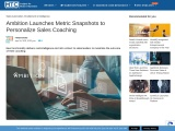 Ambition Launches Metric Snapshots to Personalize Sales Coaching