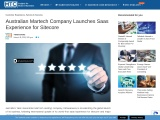 Australian MartechCompany Launches Saas Experience for Sitecore