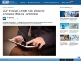 CDP Institute Selects AZK Media for Emerging Markets Partnership
