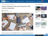 Chaser Releases Microsoft Dynamics 365 Central Integration
