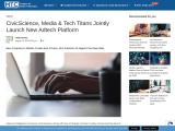 CivicScience, Media & Tech Titans Jointly Launch New Adtech Platform