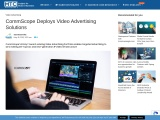 CommScope Deploys Video Advertising Solutions