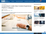 Contentstack Leads New Content Experience Platform Category