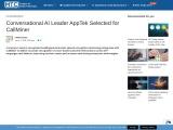 Conversational AI Leader AppTek Selected for CallMiner