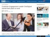 Customer Engagement Leader OneSignal named best place to work
