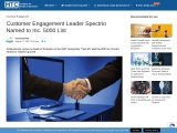 Customer Engagement Leader Spectrio Named to Inc. 5000 List