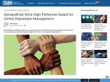 DemandHub Wins High Performer Award for Online Reputation Management