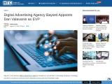 Digital Advertising Agency Bayard Appoints Dan Valavanis as EVP