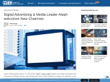 Digital Advertising & Media Leader Aleph welcomes New Chairman