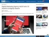 Digital Marketing Agency AdLift wins 15 Awards at Adgully Awards