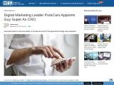 Digital Marketing Leader PureCars Appoints Guy Super As CRO