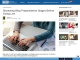 Dissecting Blog Preparedness Stages Before Going Live
