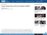 Euan Jarvie Joins IRI as President, EMEA