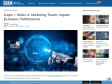 Gaps + Holes In Marketing Teams Impact Business Performance