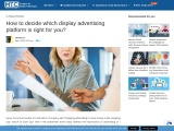 How to decide which display advertising platform is right for you?
