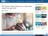 IDS Partners With CallSource to make leads visible Through CRM
