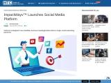 ImpactWayv™ Launches Social Media Platform