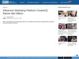 Influencer Marketing Platform CreatorIQ Raises $40 Million