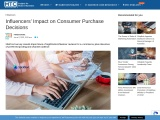 Influencers' Impact on Consumer Purchase Decisions