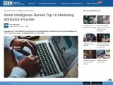 Inmar Intelligence Named Top 10 Marketing Attribution Provider