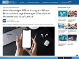 New Messenger API for Instagram Allows Brands to Manage Messages Directly