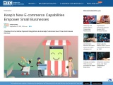Keap's New E-commerce Capabilities Empower Small Businesses