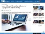 Laura Schwarz Moves Up at Customer Engagement Platform Airship
