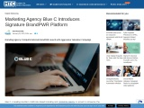 Marketing Agency Blue C Introduces Signature BrandPWR Platform