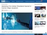 Marketing Firm Weber Shandwick Named in Gartner Magic Quadrant