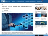 Martech Leader SugarCRM Named Product of the Year