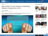 Max Powers To Join Influencer Marketing Platform CreatorIQ As CCO