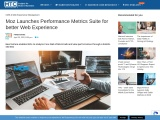 Moz Launches Performance Metrics Suite for better Web Experience