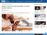 Naples Launches UpConnectMe, A Social Media Platform