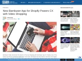 New Bambuser App for Shopify Powers CX with Video Shopping