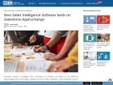 New Sales Intelligence Software lands on Salesforce AppExchange