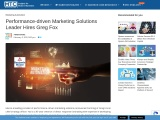 Performance-driven Marketing Solutions Leader Hires Greg Fox