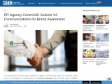 PR Agency Comm100 Selects V2 Communications for Brand Awareness