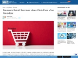 Premium Retail Services Hires First-Ever Vice President