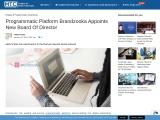 Programmatic Platform Brandzooka Appoints New Board Of Director
