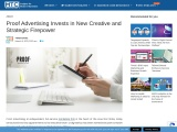 Proof Advertising Invests in New Creative and Strategic Firepower