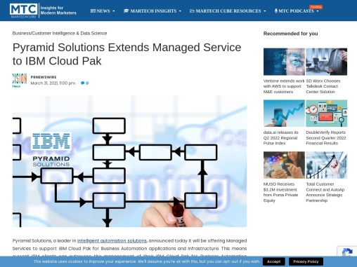 Pyramid Solutions Extends Managed Service to IBM Cloud Pak