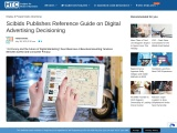Scibids Publishes Reference Guide on Digital Advertising Decisioning
