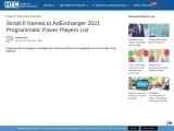 Simpli.fi Named to AdExchanger 2021 Programmatic Power Players List