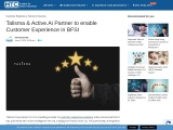 Talisma & Active.Ai Partner to enable Customer Experience in BFSI