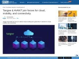 Tangoe & AVANT join forces for cloud, mobility, and connectivity.