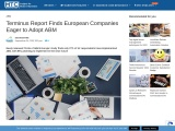 Terminus Report Finds European Companies Eager to Adopt ABM