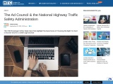 The Ad Council & the National Highway Traffic Safety Administration